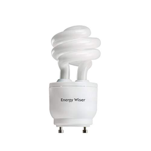 Bulbrite 509813 CF13WW/GU24/DM 13-Watt Energy Wiser Dimmable Compact Fluorescent T3 Coil, GU24 Base, Warm White (Pack of 12)
