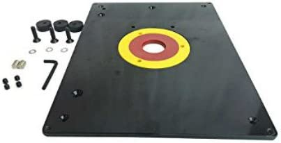 Replace MLCS 9338 All-In-one Router Plate kit 9-1//4-Inch x 11-3//4-Inch x 3//8-Inch table