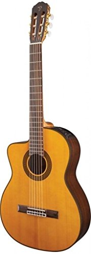 Takamine Lefty GC5CELH-NAT Acoustic Electric Classical Cutaway - Handed Takamine Left Guitars