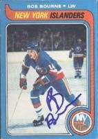 Bob Bourne New York Islanders 1979 Opee Chee Autographed Card. This item comes with a certificate of authenticity from Autograph-Sports. Autographed