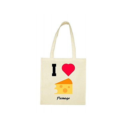 j aime le beige Tote bag fromage OqwS0OxF
