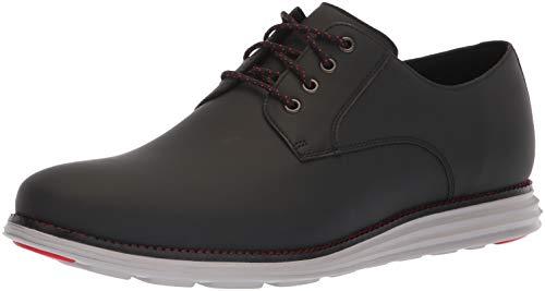 (Cole Haan Men's Original Grand Plain Toe Sneaker, Black Matte Leather, 15 M US)
