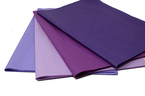 (Purple Mix 2 - Gift Wrapping Tissue Paper 96 Sheets 15