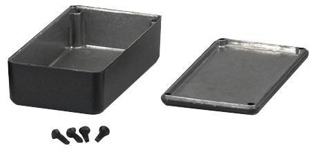 Enclos & 48,3cm Armoire rack–Enclos–Boîte moulé sous pression noir 120x 94x 56mm–1590CBK HAMMOND XY21V2600