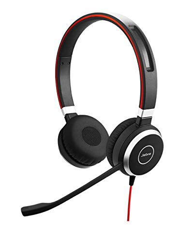 GN Netcom Jabra Evolve 40 MS Stereo Wired Headset