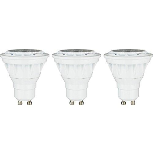 (Sunlite PAR16/LED/6.5W/FL35/GU10/DIM/50K/3PK Led Par16 Reflector 6.5W (50W Replacement) Light Bulbs, Gu10 Base, 5000K Super White, 3 Pack, )