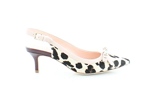 Kate Spade New York Womens Palina Blush/Brown Leopard Haircalf Print M7MWVVyZXX