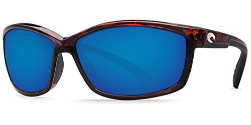 Costa Del Mar Manta 580G Manta, Tortoise Frame Blue Mirror, Blue Mirror