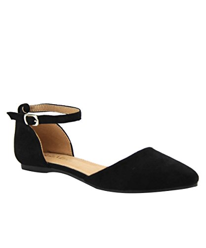 Breckelles Womens Leather DOrsay Pointed product image