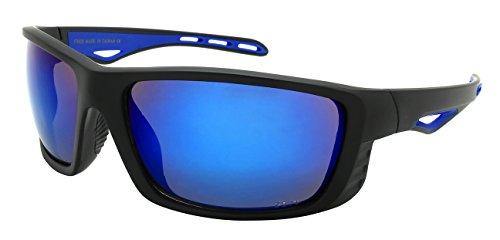 Edge I-Wear Full Frame Sports Wrap w/Z87+ Sunglasses - I Frames Glass