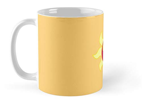 Army Mug My little Pony - Sunset Shimmer Cutie Mark Mug - 11oz Mug - Features wraparound prints - Made from Ceramic - Best gift for family friends ()