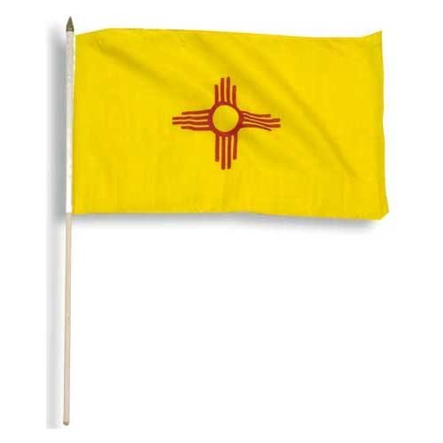 Us Flag Store New Mexico Flag, 12 by 18-Inch