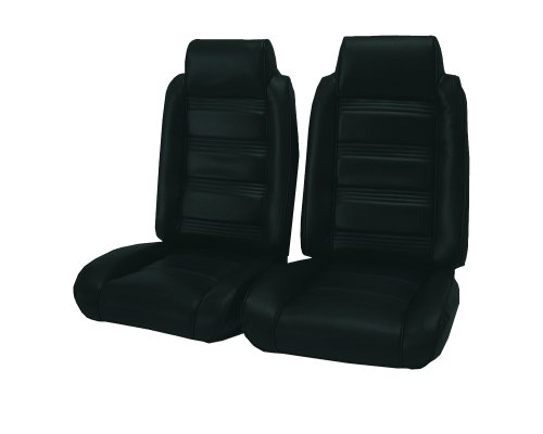 Acme U208L-F2006 Front Black Leather Bench Seat Upholstery