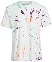 RVCA Men's Dayshift Tie Dye Short Sleeve T-Shirt