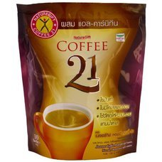 Naturegift Coffee 21 Vitamins Minerals and L-carnitine Instant Coffee Powder 135g (10 Sachets) Pack of 3