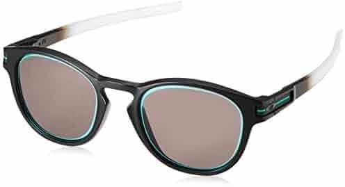 a16520eaf72 Oakley - Latch Asian Fit - Matte Black Fade Frame-Prizm Grey - Jade Lenses