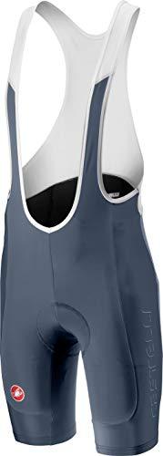 Castelli Evoluzione 2 Bib Short - Men's Dark Steel Blue, L