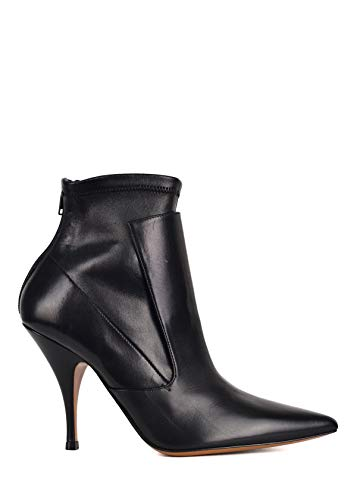 Givenchy Zip - Givenchy Womens Black Leather Kalli Heel Zip Ankle Boots Size IT36/US6~RTL$940