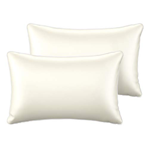 Amazon Com Sable Silk Pillowcase 2 Pack Natural Mulberry