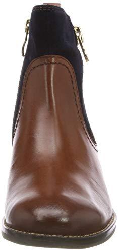 9 Caprice Ankle 21 Multi 388 Boots Cognac 25319 Women's Brown 9 388 wqfqUZ