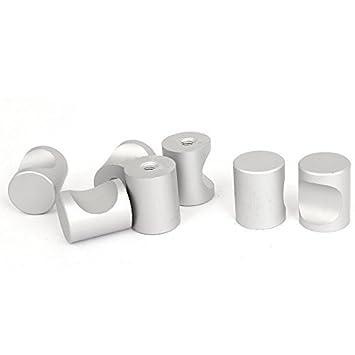 Amazon.com : eDealMax 21mmx16mm cilíndricos Puertas cajoneras tirar ...