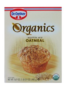 Organic Muffin Mix (European Gourmet Bakery Organic Muffin Mix Oatmeal -- 16 oz)