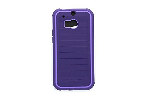 Body Glove HTC One M8 Screen Protector - Retail Packaging - Plum and Lavender