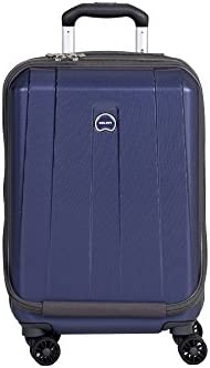 DELSEY Paris Delsey Luggage Helium Shadow 3.0 19 Inch International Carry On Expandable Spinner Suiter Trolley Navy