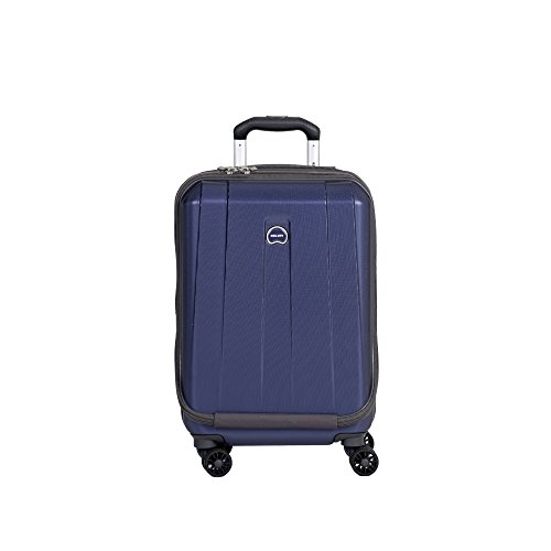 Delsey Luggage Helium Shadow 3.0 19 Inch International Carry-On Expandable Spinner Trolley (One Size, Navy) by DELSEY Paris