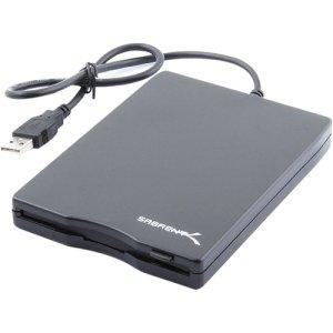 SABRENT SABRENT USB 1.44MB FLOPPY DRIVE PORTABLE BLACK / SBT-UFDB / by Sabrent
