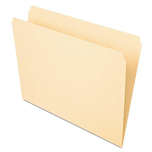Pendaflex 752 File Folders, Straight Cut, Top Tab, Letter, Manila (Box of - Case 752