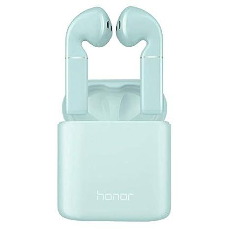 HuHonor Flypods Auriculares TWS Bluetooth 5.0 Auriculares Carga inalámbrica con Dual Mic Basic Version-Blue: Amazon.es: Electrónica