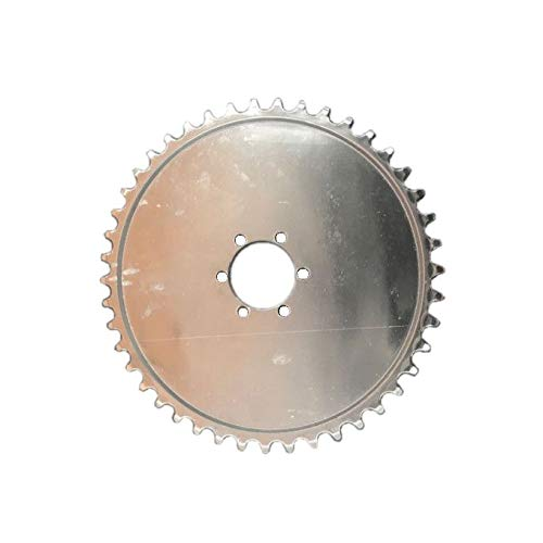 dolphin1986 High Performance 44 Teeth Sprocket with 6 Holes for Mag Wheel-Gas Motorized Bike