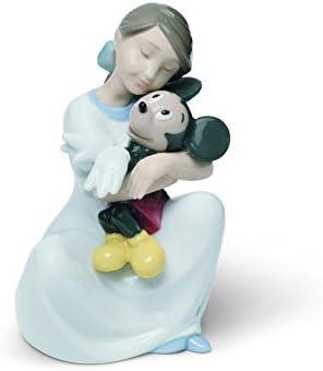 NAO I Love You, Mickey. Porcelain Mickey Mouse Disney Figure.