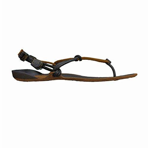 Xero Shoes Barefoot Sandals - Men's Amuri Cloud - Mocha Earth/Black 5 M US