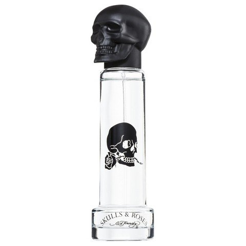 ED HARDY Skulls & Roses Eau de Toilette Spray for Men, 1.0 Ounce - Mens Cologne Ed Hardy