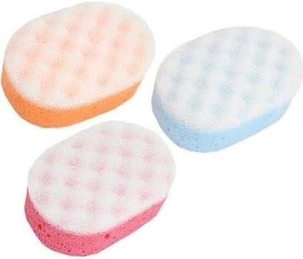 Esponja de baño exfoliante para adultos y niños - Pack de 12 Esponjas de Masaje para Hombres y Mujeres, Perfecto para el Cuerpo Fregar en la Ducha: Amazon.es: Belleza