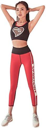 レディースジャージ上下セット 女性のためのロングスキニーパンツセットトラックスーツヨガセット (Color : Black, Size : XL)