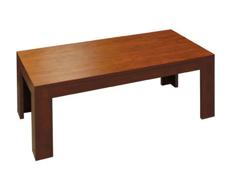 Cherry Laminated Thermal Fused Melamine Office Reception Room Coffee Occasional Tables