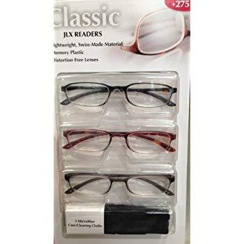 Design Optics +2.75 Reading Glasses, 5.6 ()