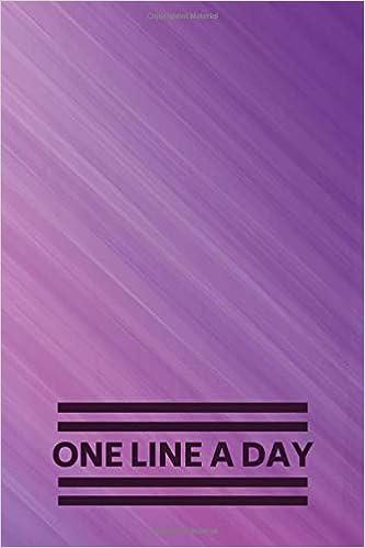 com one line a day daily memory keepsake notebook write