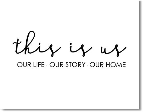 This is Us Quote for Family Wall Art Decor Print – 11×14 unframed print