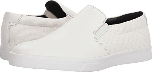 Calvin Klein Men's Ivo Loafer, White, 9 Medium US