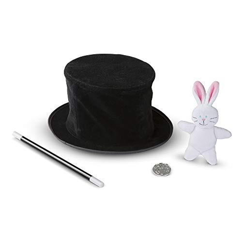 Coolest Homemade Costumes (Melissa & Doug Magic in a Snap! Magician's Pop-Up Hat with Tricks (Illustrated Instructions, 4 Pieces, Great Gift for Girls and Boys - Best for 4, 5 and 6 Year)