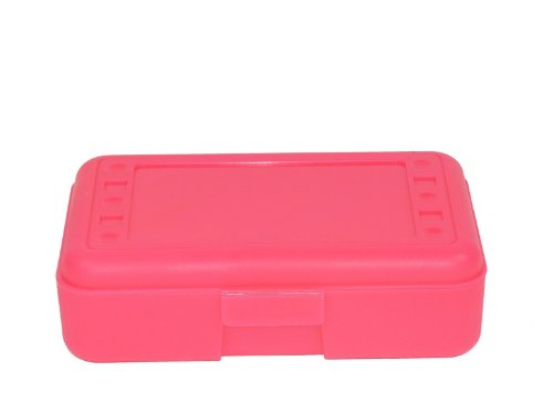 Romanoff Pencil Box, Hot Pink by Romanoff Products Inc