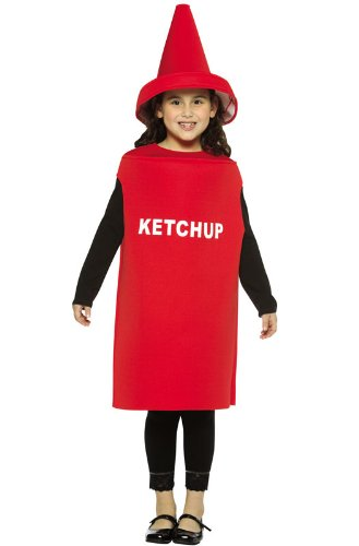 Ketchup Costume - Medium