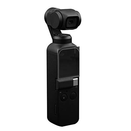 (QUICATCH Compatible for DJI OSMO Pocket Camera 6PCS Flexible Fiberglass Lens/Screen Protective Film Rub-Proof Scratch-Proof Match Accessory)