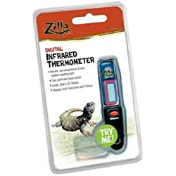 "Zilla Digital Infrared Thermometer, 3.5"" L X 1.3"" W X 6"" H"