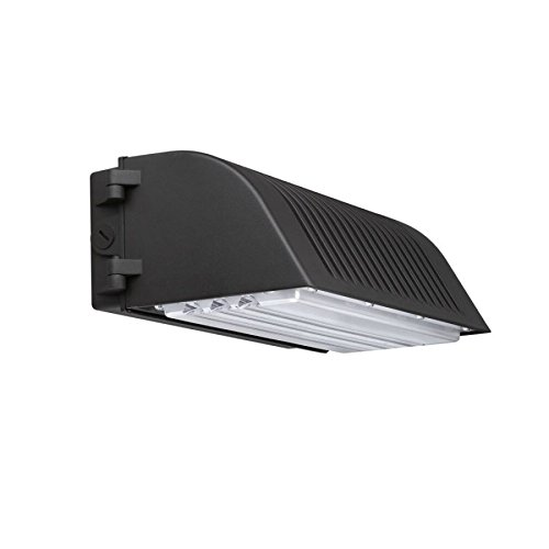 Festnight 70 Watt LED Full Cut-off Wall Pack Light Fixture 8,400 Lumens 300-400W Equal HID/HPS 5000K Waterproof IP65 AC100-277V with UL DLC Certificate 5 Years Warranty by Festnight