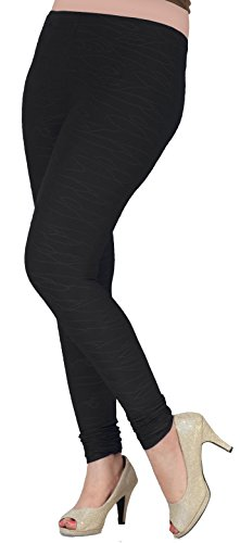 Womens-Churidar-4-Way-Stretchable-Leggings-Self-Textured-Fabric-India-Clothing
